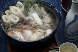 きりたんぽ鍋の写真素材 [FYI00076854]