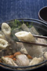 きりたんぽ鍋の写真素材 [FYI00076859]