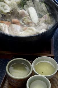 きりたんぽ鍋の写真素材 [FYI00076861]