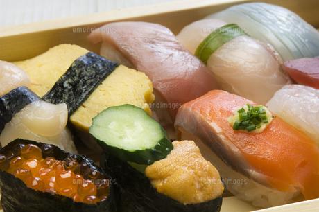 にぎり寿司の写真素材 [FYI00076925]