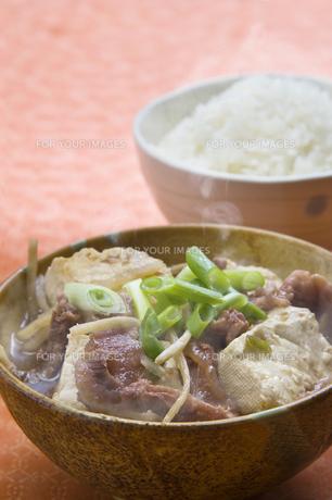 肉豆腐の写真素材 [FYI00077017]