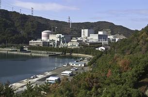 敦賀原子力発電所の写真素材 [FYI00077345]