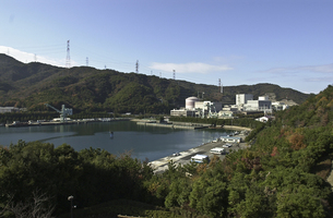 敦賀原子力発電所の写真素材 [FYI00077368]