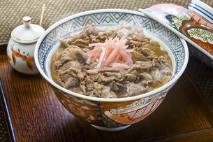 牛丼の写真素材 [FYI00077413]