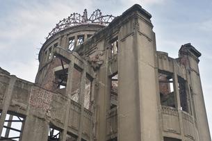 平和公園 原爆ドームの写真素材 [FYI00077475]