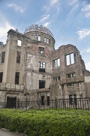 平和公園 原爆ドームの素材 [FYI00077485]