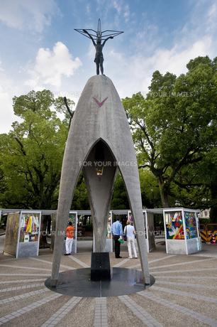 平和公園 折り鶴の塔の素材 [FYI00077499]
