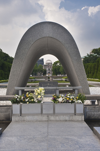 平和公園 原爆慰霊碑の素材 [FYI00077502]