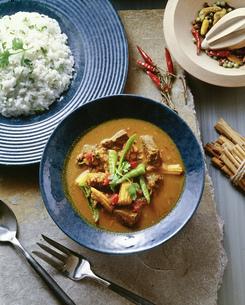 タイ風牛肉カレーの写真素材 [FYI00077572]