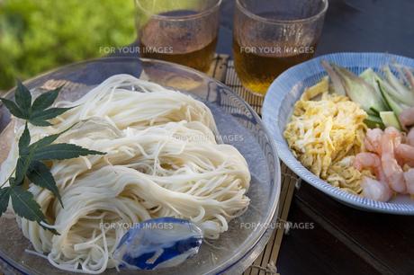 素麺の写真素材 [FYI00077774]