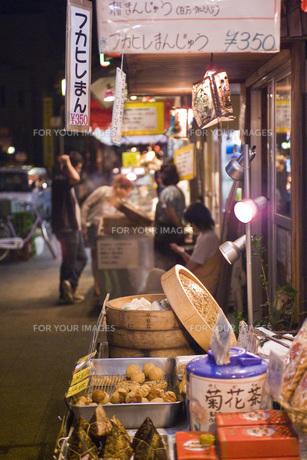 中華街の夜の素材 [FYI00077874]