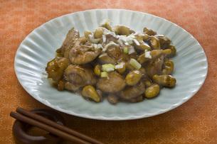 鶏肉カシューナッツ炒めの写真素材 [FYI00077952]