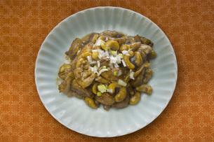 鶏肉カシューナッツ炒めの写真素材 [FYI00077962]