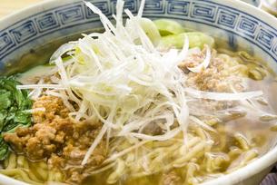 担々麺の写真素材 [FYI00078044]