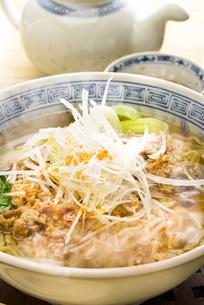 担々麺の写真素材 [FYI00078045]