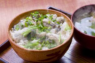 カキご飯の写真素材 [FYI00078093]