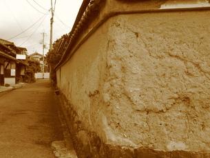 土塀の写真素材 [FYI00078220]