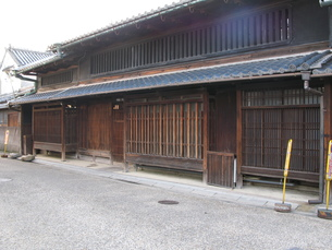 奈良の町屋の写真素材 [FYI00078245]