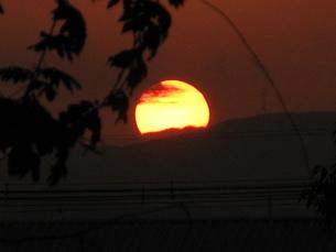 夕日の写真素材 [FYI00078256]