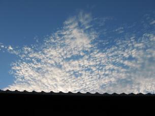 秋の空の写真素材 [FYI00078257]