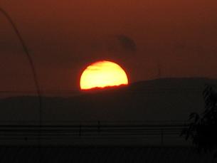 夕日の写真素材 [FYI00078262]