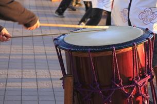 太鼓の鼓動の写真素材 [FYI00079761]