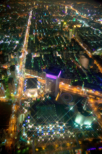 台北101からの夜景の写真素材 [FYI00080038]