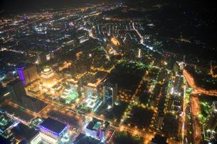 台北101からの夜景の写真素材 [FYI00080041]