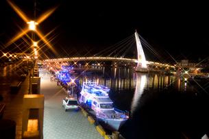 小港の夜景の写真素材 [FYI00080046]