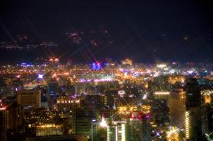 台北の夜景の写真素材 [FYI00080062]