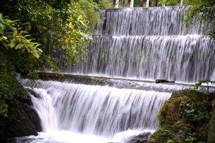 滝の写真素材 [FYI00080066]