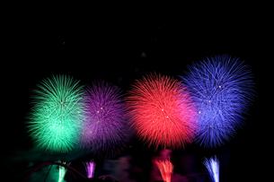 豊田おいでんまつり花火大会の写真素材 [FYI00080089]