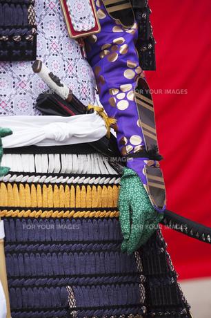 鎧武者のコスチュームの写真素材 [FYI00080172]