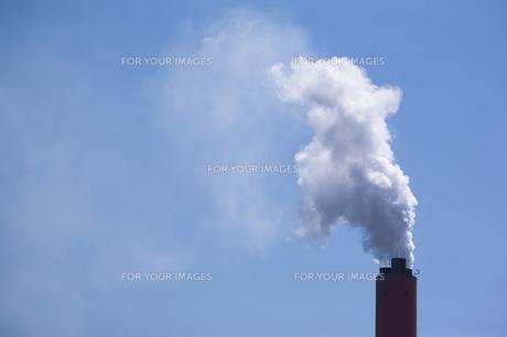 工場の煙突の素材 [FYI00080214]
