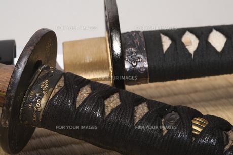 大小日本刀の写真素材 [FYI00080441]