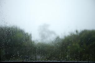 窓の外は嵐の写真素材 [FYI00080519]
