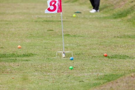 グラウンドゴルフの写真素材 [FYI00080527]