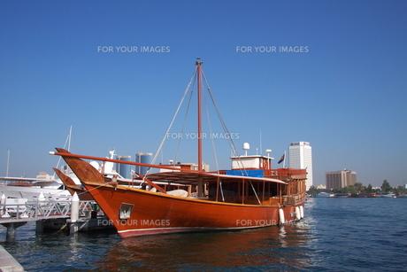 ダウ船の写真素材 [FYI00081501]