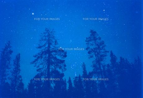 星空の写真素材 [FYI00081822]