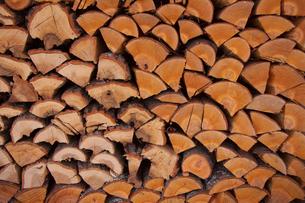 薪の写真素材 [FYI00081873]