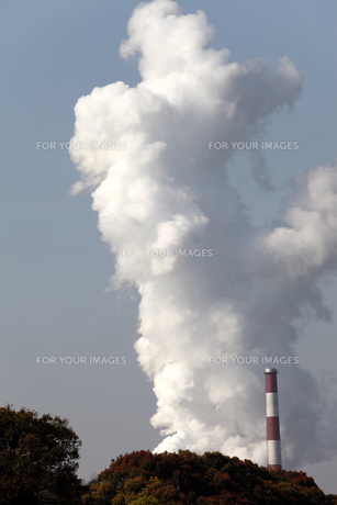 煙の素材 [FYI00082551]