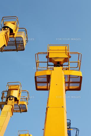 建設機械の写真素材 [FYI00082566]