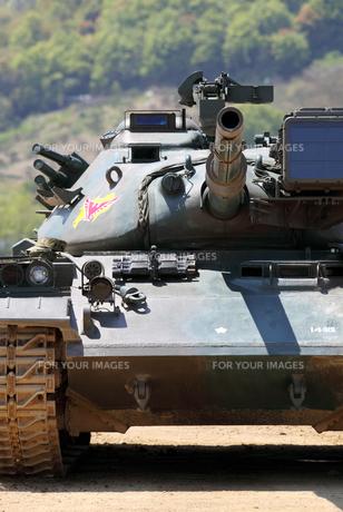 戦車の写真素材 [FYI00082573]