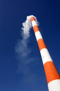 工場の煙突の素材 [FYI00082591]