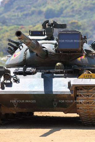 戦車の写真素材 [FYI00082592]
