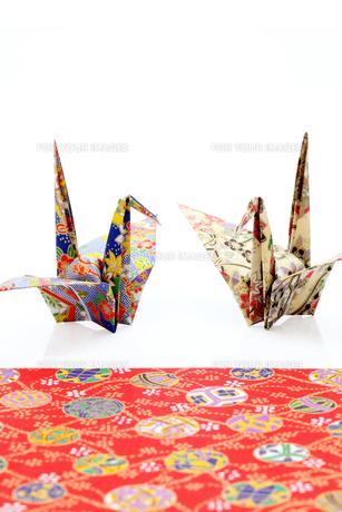 折り鶴の素材 [FYI00082629]