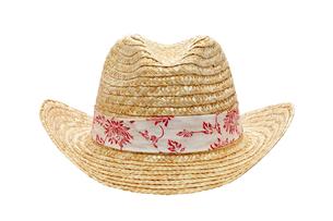 麦藁帽子の写真素材 [FYI00082693]