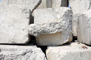 コンクリートブロックの素材 [FYI00082791]