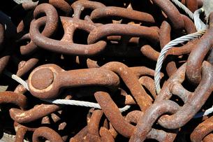 鎖の写真素材 [FYI00083117]