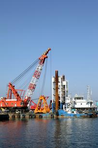 海砂採取船の素材 [FYI00083235]